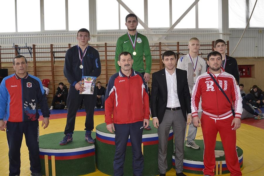 Первенство ЮФО по вольной борьбе среди юниоров. Финал в весовой категории до 70 кг