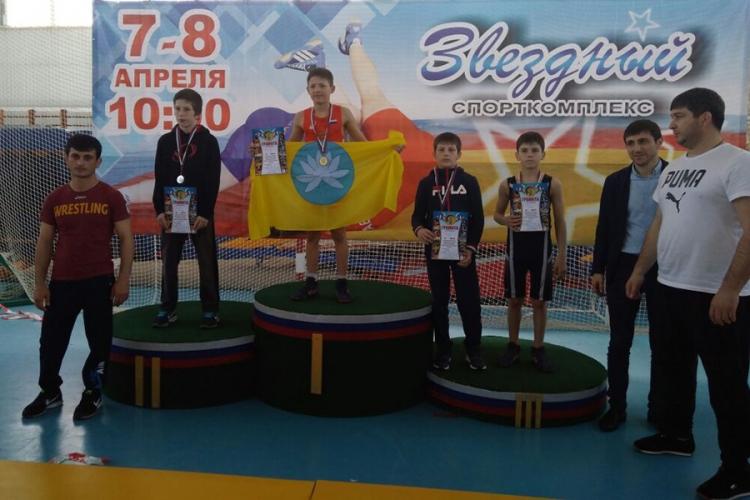 Все победители и призеры первенства ЮФО по вольной борьбе среди юношей до 16 лет