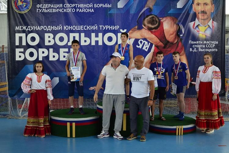 Решат Умеров из Советского – бронзовый призер международного юношеского турнира в Гулькевичах