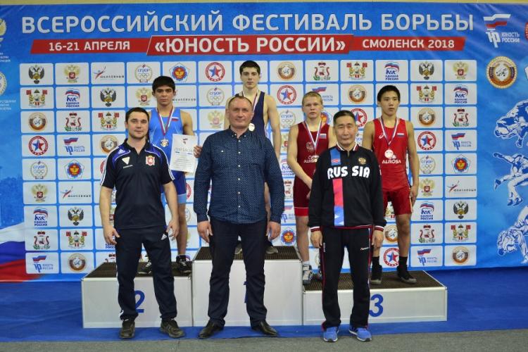 Все победители и призеры фестиваля «Юность России» по вольной борьбе