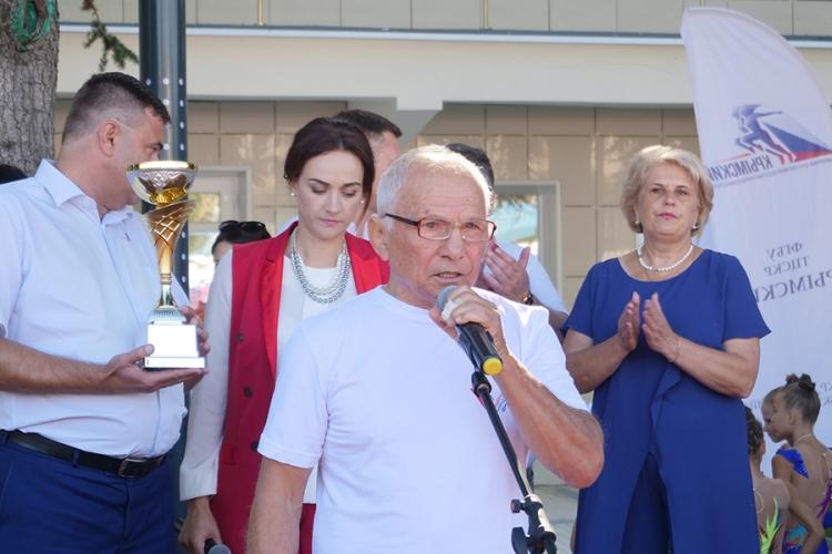 Олимпийский чемпион Рустем Казаков принял участие в Спартакиаде Алушты