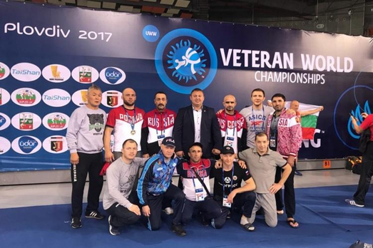 Российские ветераны завоевали семь золотых медалей на чемпионате мира