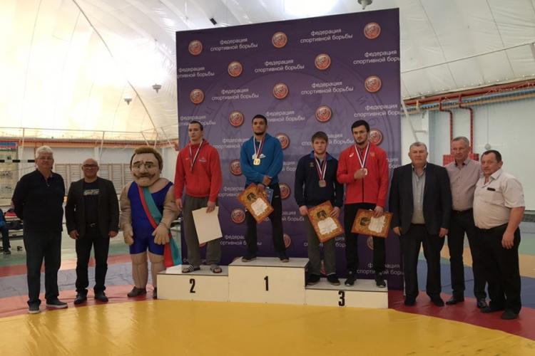 Симферополец Михаил Самсонов – бронзовый призер Мемориала Поддубного