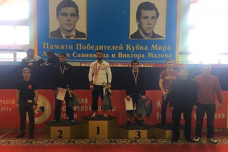Все победители и призеры первенства России по греко-римской борьбе среди юниоров до 23 лет