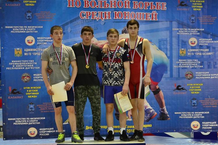 Все победители и призеры первенства России по вольной борьбе среди юношей до 16 лет