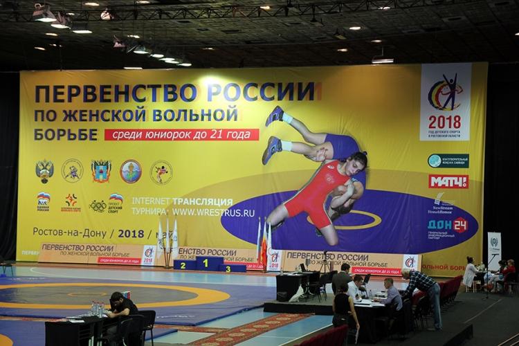 Все победители и призеры первенства России по женской борьбе среди юниорок до 21 года