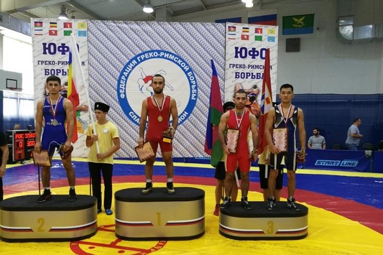 Все победители и призеры чемпионата ЮФО по греко-римской борьбе