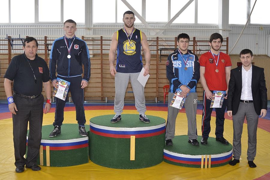 Первенство ЮФО по вольной борьбе среди юниоров. Финал в весовой категории до 86 кг