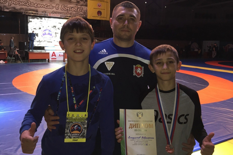 Владислав Коврыженко – бронзовый призер первенства России по греко-римской борьбе!