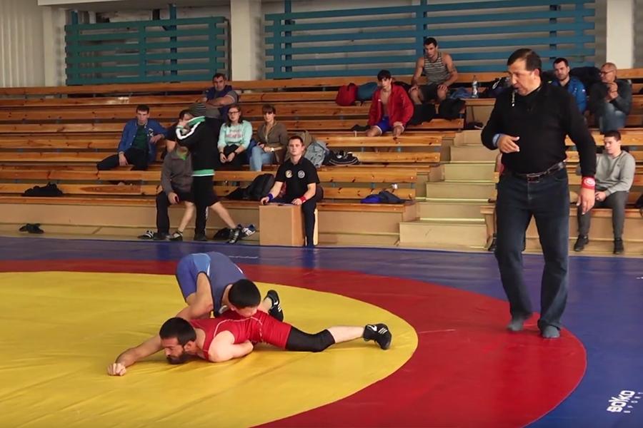 Видеосюжет о Кубке Крыма по вольной борьбе