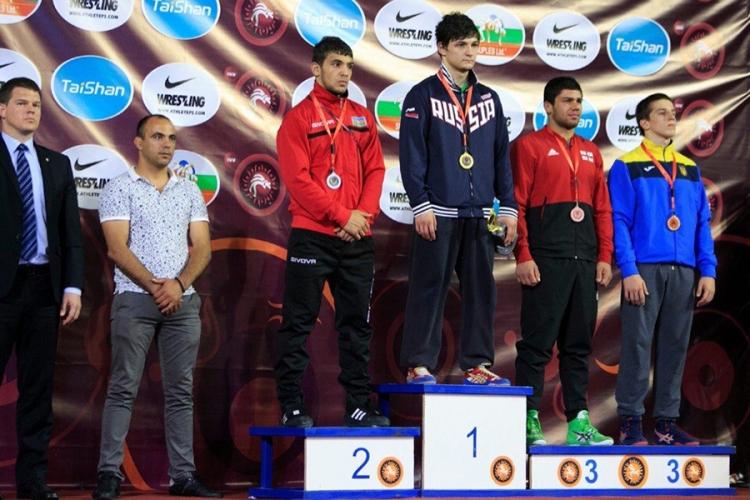 Все победители и призеры первенства Европы по вольной борьбе среди юношей до 18 лет