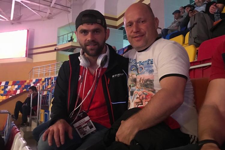 Крымские борцы на чемпионате Европы по греко-римской борьбе. В составе других сборных