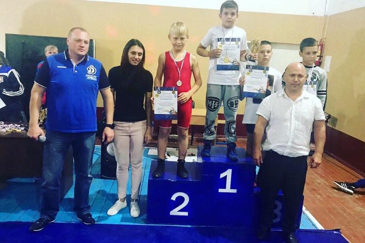 Все победители и призеры юношеского турнира по греко-римской борьбе «Юный динамовец»
