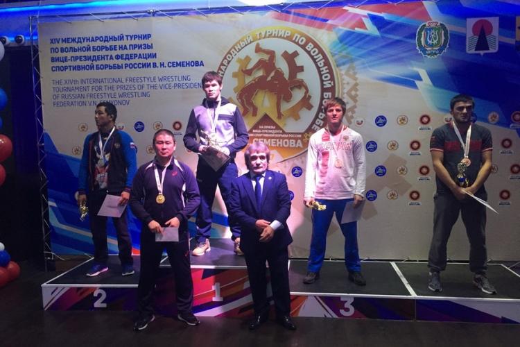 Все победители и призеры международного турнира по вольной борьбе на призы Владимира Семенова
