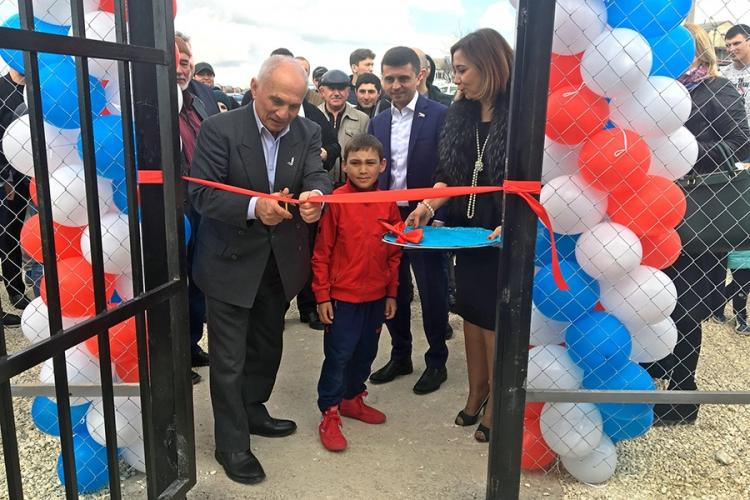 В Бахчисарае открылся новый борцовский зал