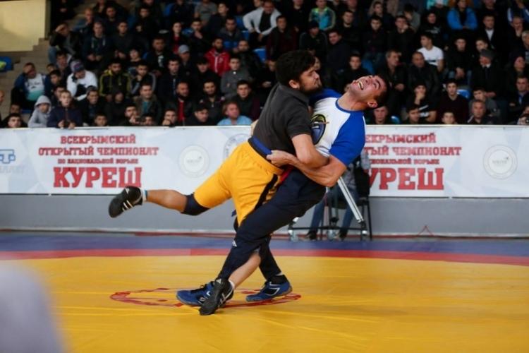 25 ноября в Симферополе пройдет Всекрымский турнир по национальной борьбе куреш