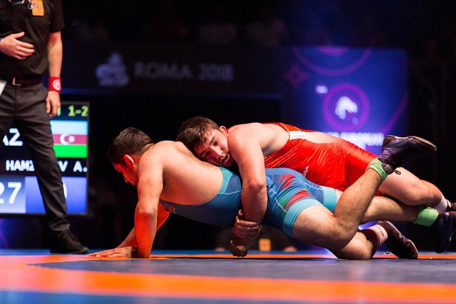 Чемпионская схватка Азамата Закуева