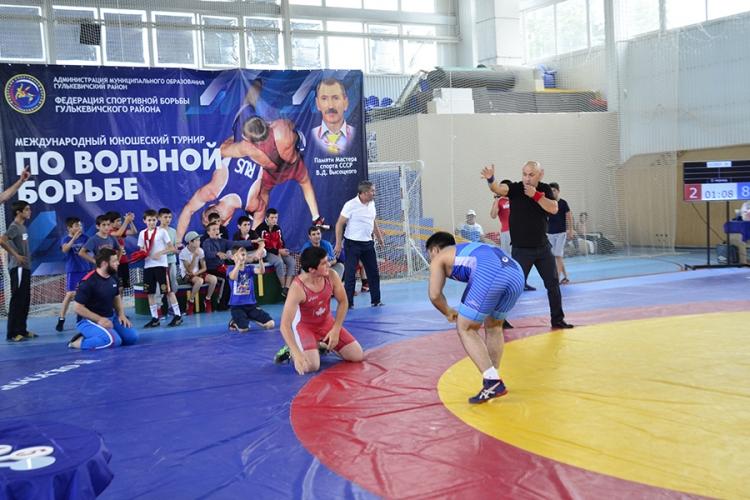 Все победители и призеры международного борцовского турнира в Краснодарском крае
