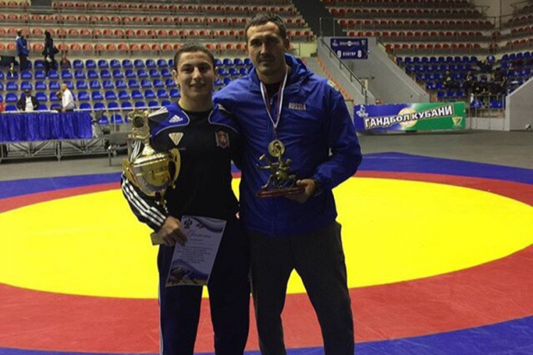 Бахчисарайский борец Ридван Османов – победитель юниорского турнира в Краснодаре