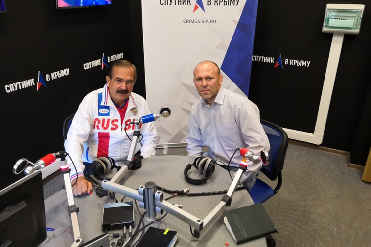Олег Домашенко в программе «От и до» на радио «Спутник в Крыму»