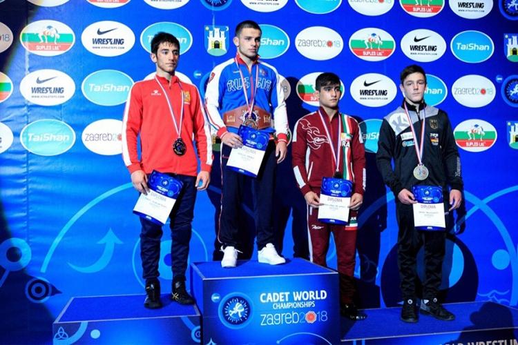 Все победители и призеры первенства мира по греко-римской борьбе среди юношей до 18 лет