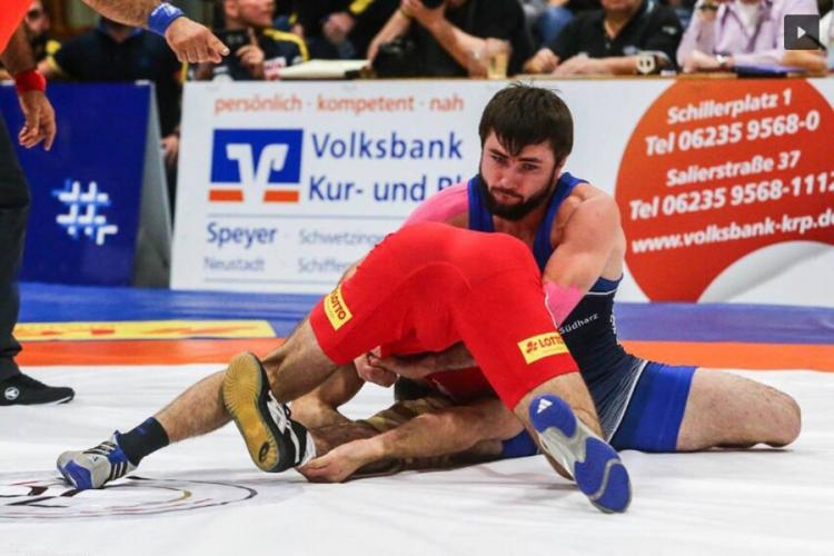 Симферопольский борец Расул Машезов дебютировал в клубном чемпионате Германии