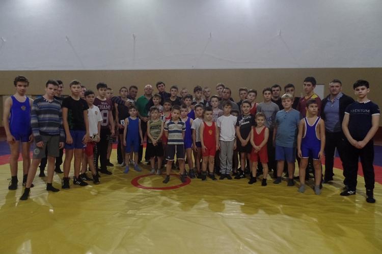 Фото с мастер-класса Адама Курака в Симферополе