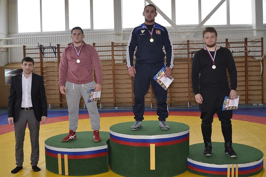 Первенство ЮФО по вольной борьбе среди юниоров. Финал в весовой категории до 125 кг